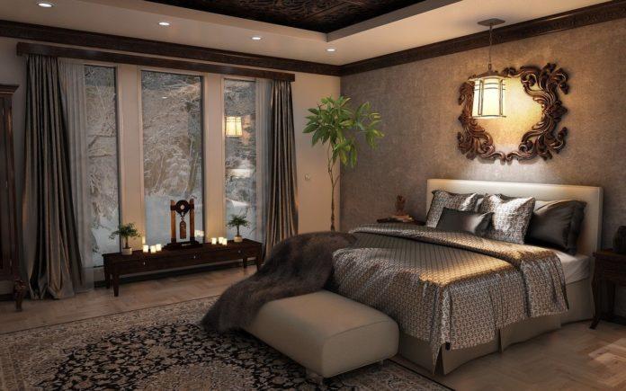 décoration chambre auberge